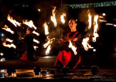 Tulisirkus Walkea – Lux Helsinki 2014
